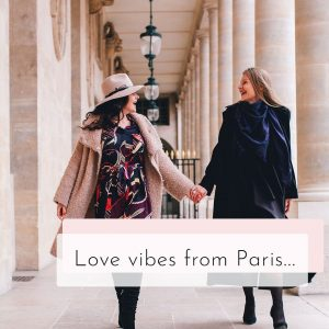 Love vibes from Paris